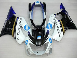 Wholesale 99 honda cbr f4 - CBR600 F4 Fairings for HONDA CBR600F4 1999-2000 CBR 600F4 CBR600 F4 600 F4 99 00 1999 2000 fairing kit #h2937 White black