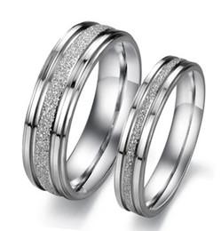 2019 precio del anillo 316l Los anillos de acero inoxidable 316L OPK clásico diseño simple del amante de los anillos de boda personalizados pulido mate mujeres hombres joyería de los precios bajos rebajas precio del anillo 316l
