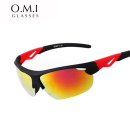 Wholesale Racing Bicycles Brands - High Quality Fashion Cycling Sunglasses Brand Designer Men Bicycle Glass Outdoor Sun Glasses Sport Eyewear Racing Goggles Shade