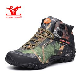Wholesale Nice Camp - Woman Waterproof Hiking Shoes for Women Nice Antislip Athletic Trekking Boots Camouflage Sports Climbing Shoe Outdoor Walking Sneakers