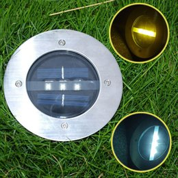 Wholesale Decoration Floor Lamp - Solar Powered Panel light 3LED Deck lighting lamp for Garden Lawn decoration solar floor lamp Pathway underground Decking Outdoor Yard Lamp