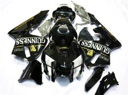 Novos kits de carenagem completa de plástico abs apto para honda cbr600rr f5 03 04 2003 2004 CBR600 conjunto de carroçaria + tampa do tanque de Fornecedores de oem peças honda