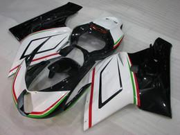 Mv agusta verkleidungen online-Kunststoffverkleidungen für MV AGUSTA F4 1 + 1 1000 ccm 2006 ABS Verkleidung 05 Weiß Schwarz Verkleidungskits für MV AGUSTA F4 1000 CC 06 2005 - 2006