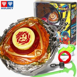 Wholesale Fusion Brands - Original Brand Beyblade Metal Fusion Rapidity Beyblades Spin Top Toy Set Toy with Launcher Kids Toys Top Assembly Super Battle Kids Game Toy