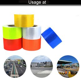 Wholesale Reflective Mirror Tape - Car reflect sticker,safe warning adhesive tape of size 5cm width by 3meters long,well use on car,road etc