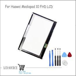 "Wholesale Huawei Fhd - Wholesale-Original High Quality LCD Screen 10.1""For Huawei Mediapad 10 FHD LCD Display S10-101 S10-101U S10-101W Module Screen Replacement"