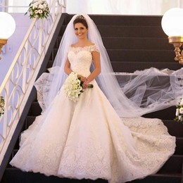 Wholesale Wedding Gowns Online China - Vestido De Noiva 2018 sexy cheap Short Sleeve Lace Dresses Boho Wedding Dress Shop Online China Vestido De Casamento
