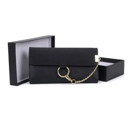 scatola elegante del regalo del regalo Sconti 2017 Elegante Lady Pochette Portafogli Titolari Confezione regalo Donna Vestito Hasp Fashion Borsa per telefono Carta di credito Confezione Multi-bit a righe VKP1484