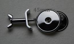 Wholesale Mercedes Amg Emblems - Wholesale 100pcs Front Bonnet Hood Emblem Logo 45mm SLK CL CARLSSON Appletree AMG Lorinser  B BLUE STAR Color black appletree