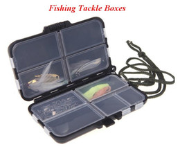 Wholesale Tackle Kits - Fishing Tackle Box Kit Storage Fly Fishing Box Spinner Bait Minnow Popper 9 Compartments Fishing Accessories out229