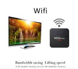 Wholesale Lowest Price Wifi Tv - Hot sale WIFI Andriod TV BOX Wholesale network player S905 set-top box television set-top boxes MXO pro TV box low price DHL free