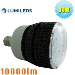 Wholesale Led Light Fixture Socket - 320 Watt metal halide Equivalent 80W LED canopy light shoebox fixture E39 mogul socket 5700K 6000K daylight