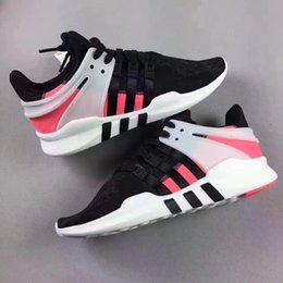 Wholesale Square Toe Men Shoe - 2017 Newest Ultra Boost support 93 EQT Support Limited edition black pink Sneakers Men and womens Shoes top qualityfashion shoes