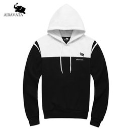Толстовки толстовки толстовки онлайн-Wholesale-  Clothing Men's Heavy Hoody Autumn Winte Man Fashion Sweatshirts Cotton Fleece Hoody Male's Pullover Hoodie Patchworked