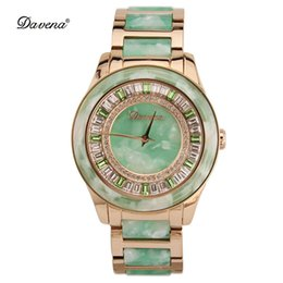 Wholesale Tungsten Diamond Watches - 2017 fashion ladies agate watch personality big dial female watches waterproof daily diamond lady Wristwatches