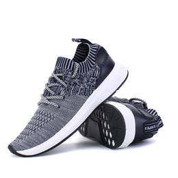 Wholesale Sport Comfort Sneakers - Running Shoes For Men's Mesh Breathable Sport Shoes Men Height Increasing Sneakers Black Male Light Comfort Shoes Sports