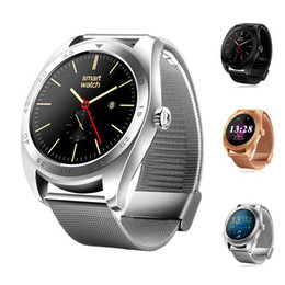 Wholesale Gesture Control Phones - New K89 Smart Watch MTK2502C Bluetooth Support Heart Rate Monitor Wake Up Gesture with Changeable Strap for IOS & Android Phone