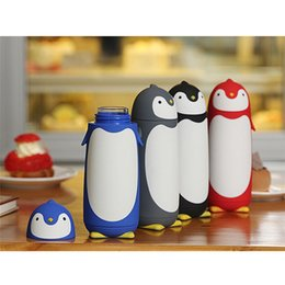 Wholesale Thermos Flask Sale - Hot Sale Cute Penguin Stainless Steel Thermos Vacuum Flasks Kid's Cartoon Thermal Insulation Water Bottle Sweet Gift for Children
