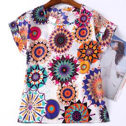 Wholesale Top Clothing Wholesaler China - Wholesale- Summer Women T Shirt 19 Patterns Print Plus Size Cheap Clothes China Roupas Femininas Female Summer Style T-Shirt Women Top Tee