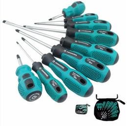 Wholesale Torx Screws Wholesale - 9 in 1 Screwdriver Set Multi-Bit Tools Repair Torx Screw Driver Screwdrivers Kit Home Useful Multi Tool hand tool