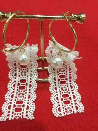 Wholesale Skeleton Necklace Pink - Lace Earrings suitable for Global trip shoot