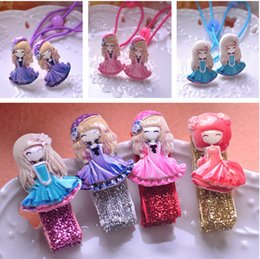 Wholesale Hair Bang Clip Real - Children's hair accessories Candy color flower girl clip bang clip duckbill clips of the girls cartoon headdress mix small adorn article
