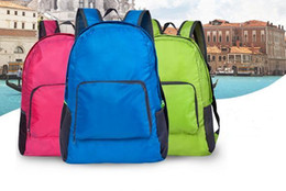 Wholesale Ms Vogue - 4 color Vogue of new fund of ms outdoor backpack ultralight receive packages can be folded and backpacking