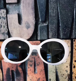 Wholesale California Fashion Men - Fashion CALIFORNIA SURF white grey Sunglasses Designer Brand Sunglasses Oval frame Unisex Sunglasses Eyeglasses New with Box
