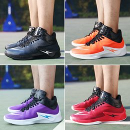 Wholesale Trendy New Mens Shoes - Men Casual Shoes New Trendy Plus Size Leather Vamp Sport Shoes Man Rubber Outsole Lace-Up Mens High Top Sneakers Mix Order Free Shipping
