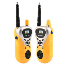 Wholesale Radio Walkie Talkie Kids - 2016 Newest Intercom Electronic Walkie Talkie Kids Child Mni Toys Portable Two-Way Radio