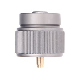 Wholesale Wholesale Gas Cylinder - Wholesale- Propane Refill Adapter small gas tank input Valve Output outdoor camping stove Convert cylinder LPG canister adapter