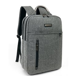 Wholesale Fashionable Backpacks - High Quality Fashionable Mens Waterproof Canvas Work Bag Leisure Bag Travel Bag Laptop Backpack (#7)