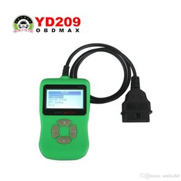 Wholesale German Online Free - 2017 New Arrival YD209 DIY Auto OBDII Code Scanner Update Online YD209 Code Reader with Free Shipping