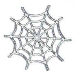 Wholesale Embossing Dies - Metal spider Web Cutting Dies Stencils for DIY Scrapbooking photo album Decorative Embossing DIY Paper Cards