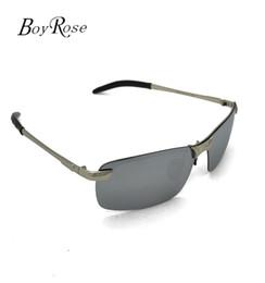 Wholesale Designer Sunglasses Ray Brand - Brand BoyRose 68MM Silver Lenses Luxury Sun glasses Fashion Evidence Rays Sunglasses Designer Glasses Eyewear For men Women Bans 3043 Case