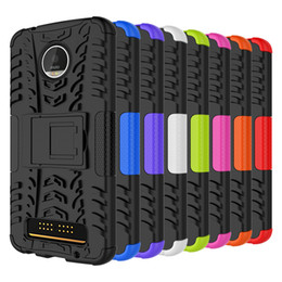 case for z3 Promo Codes - for MOTOROLA MOTO G6 Z Force Z3 play MOTO Z G4 G4 Plus Hybrid KickStand Impact Rugged Heavy Duty TPU+PC Shock Proof case Cover 160pcs