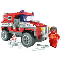 Wholesale Construction Model Kits - Kids Educational Toys!!!Car Model Building Kits 263pcs set Construction Bricks Sets Enlighten Child Puzzle Toy Kids Gifts