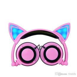 Wholesale Cheap Cat Ears - Bluetooth LX-107 cat ear sport headset High Quality cheap bluetooth stereo headphones headphone handsfree with mic