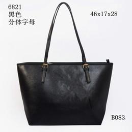Wholesale Designer Ladies Leather Bags - Fashion Women M Bags Handbags PU M Korse Leather Famous Jet Set Travel Saffiano Famous Brand Designer Tote Lady MICHAEL Female G Bags 6821a