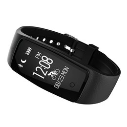 Wholesale S1 Smart Phone - Wholesale S1 Smart Bracelet Waterproof Bluetooth SmartWatch Wristband Heart Rate Monitor IP67 For Android IOS Phone