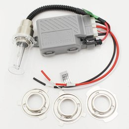 Wholesale Hid Xenon H6 Kit - Universal Motorcycle H4 H6 H6M High Low Bi Xenon H4-3 Head Light Dual Sport Slim Ballast 12V 35W Hi lo Xenon Light