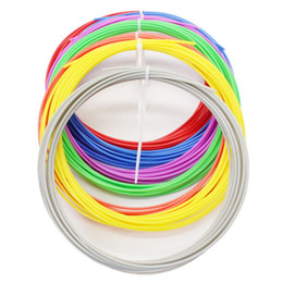 Wholesale Ink Pen Printing - HIGH QUALITY Colorfully 6 pcs ABS 3D Print PLA Filament 1.75MM Ink For 3D Printer Pen 3D Printer Reprap Wanhao Makerbot