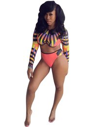 Wholesale Tankini Shorts Set - Hot New Sexy Women Bandage Swimsuit Bikini Digital Print Tank Bra & Shorts Swimwear Bathing Girls Multi-Colors 2 PC Sets Tankini For Girl