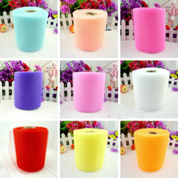 Car skirting online-Garza Wedding Products Car Decoration Ceremony Scenery Multicolor Costo opzionale Effective Yarn Party Tutu Gonna Forniture Hot Sell 2 5yz J
