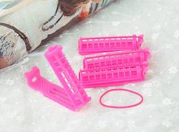 Wholesale Hair Curler Bag - 200pcs (4pcs bag) Plastic Magic DIY Wavy Spiral Hair Curler Tubes , Hair Rollers No Hurt Wash And Wear , Hair Care Styling Tools