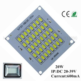 Discount led square panels rgb - Wholesale- 20pcs LED pcb floodlight pcb plate 20W63*67 2000-2200lm SMD5730 Light Source Panel for outdoor Landscape Street light Wall lamp