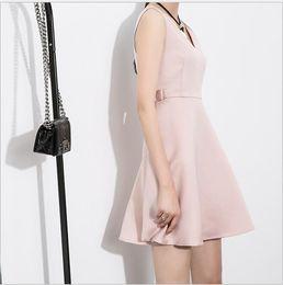 Wholesale Bell End - European Fashion House Fashion 2017 Spring Summer New Original Brand High-end Fashion Travel Dresses is F2587