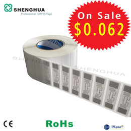Wholesale Wholesale Track Equipment - Wholesale- 2000pcs RFID Factory Price Tags Label Printable UHF RFID Smart Label for Tracking Inventory and Equipment