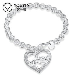 Wholesale Hot Asian Ladies - Free Shipping 2017 New Foreign hot lady Heart Bracelet