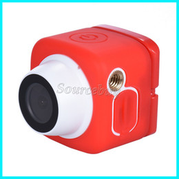Wholesale Hd Pocket Cam - New Super Mini DV Sport Cam Handheld Pocket Action Camera 120D Wide-Angle Lens 720P Wifi Selfie Camera Compatible APP Android & IOS Car DVR